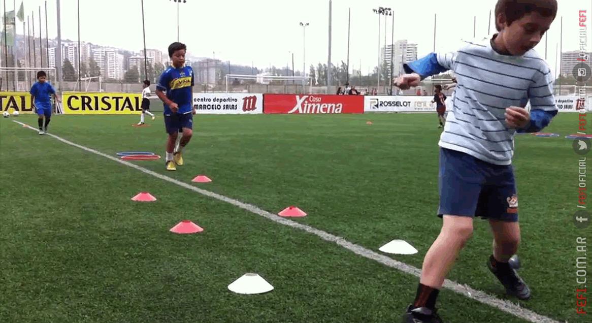 Principios del entrenamiento técnico para el fútbol infantil  f36180d35c387